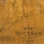 MAP OF HINGHAM Surveyed by JEDEDIAH LINCOLN AND REUBEN HERSEY JR. IN 1830