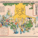 1904 Russo Japanese War propaganda map
