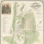 Map of the NEW CONVALESCENT CAMP. FAIRFAX CO. VA. Four miles S.W. from Washington,