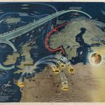 Nav War Map No. 3 / WORLD WAR 2 IN THE NORTH SEA AREA [and on verso:] Nav War Map No. 4 / THE NORTH PACIFIC AREA