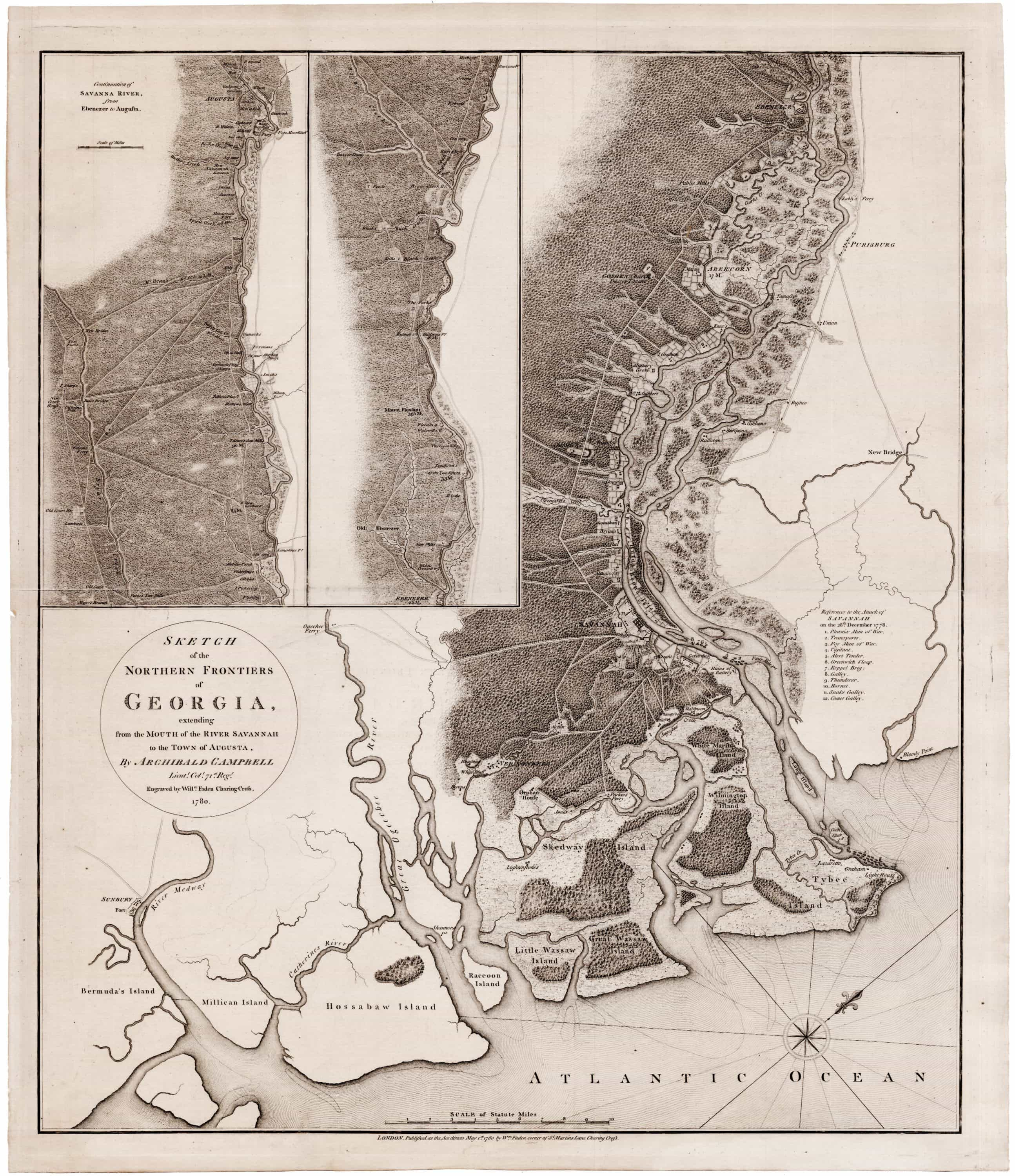 The British capture Savannah Georgia in 1778 - Rare ... on address in georgia, english in georgia, the map alaska, highway in georgia, history in georgia, buildings in georgia, the map russia, the map tennessee, resources in georgia, the map south carolina, the map washington, the map colorado, silver in georgia, the map new jersey, the map california, home in georgia, the map new hampshire, the map florida, the map indiana, the map pennsylvania,