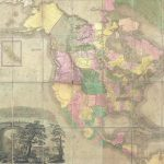 Unrecorded 1845 edition of Henry Tanner Map of North America