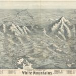 White Mountains bird's eye view by G. W. Morris