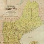 1896 Map of New England Newspapers
