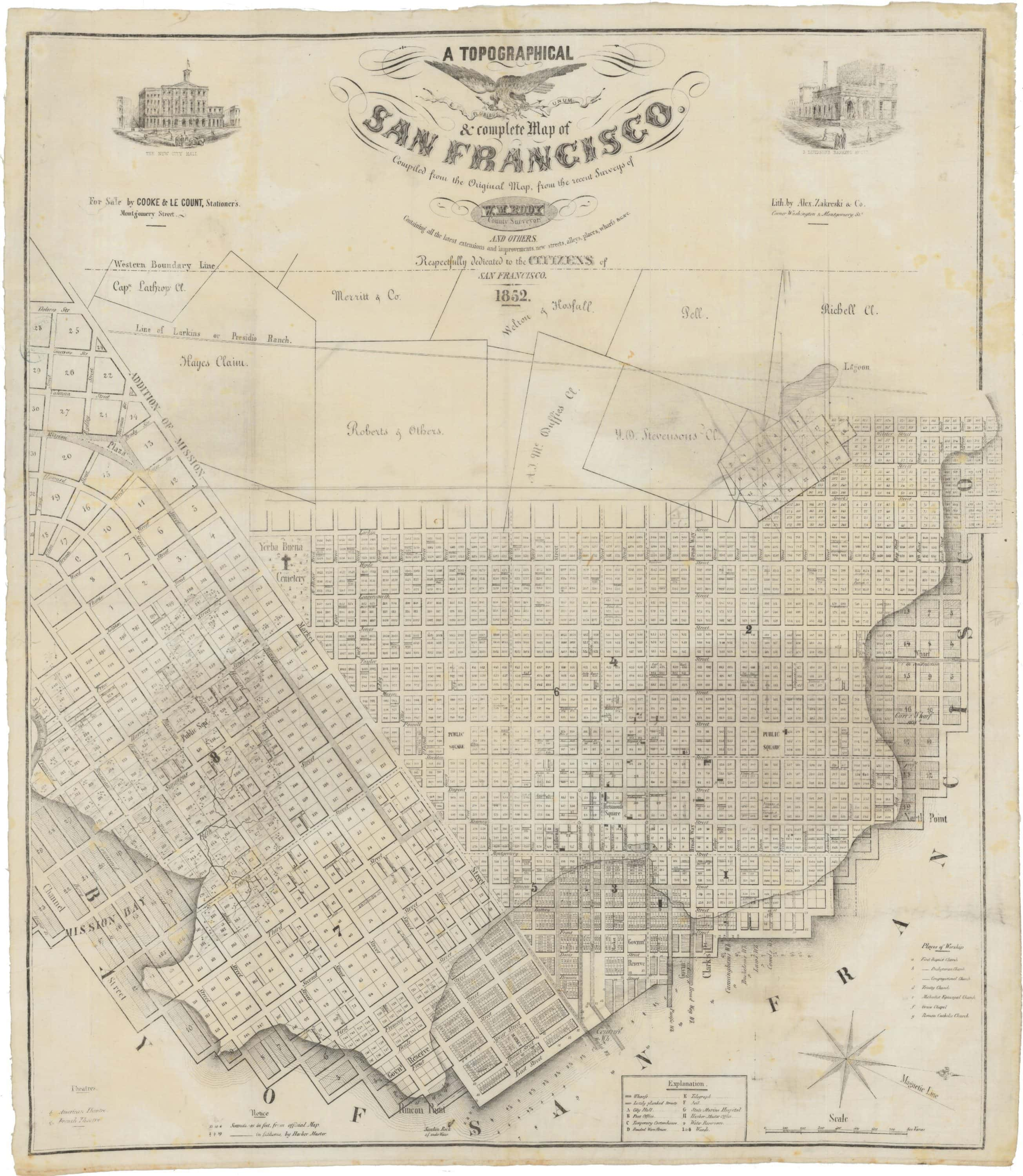 An essential early Map of San Francisco, printed on linen on map of chicago sites, map of lisbon sites, map san fra, map of paris sites, map of united states sites, map of istanbul sites, map of st. augustine sites, map of new hampshire sites, map of event, map of jerusalem sites, map of downtown chicago restaurants, map of munich sites, map of athens sites, map of marin, map of amsterdam sites, map of east bay, map of manhattan sites, map of arizona sites, map of rome sites, map of units,