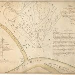 Ca 1788 Winthrop Sargent plan of Indian mounds at Marietta