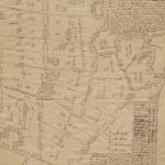Unique cartographic archive of the village of Siasconset on Nantucket