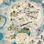 Herbert J. Lawrence, Map Showing Isle of Pleasure, 1931