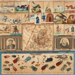 Odo Staab, [Didactic manuscript map of Europe.] [Germany], 1813.