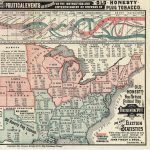 John Finzer & Bros., Louisville, Ky., OLD HONESTY NON-PARTISAN Political Map OF THE UNITED STATES SHOWING THE Presidential Vote of 1880 AND Other Election Statistics. Chicago: Rand McNally & Co., 1884.