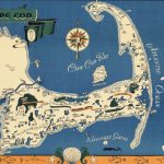 Paul Paige, a map of CAPE COD. East Brewster, Mass.: Paul Paige, [ca. 1940?]