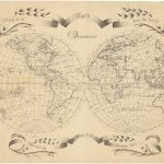 Hall, Mary B. Map of the World From the Latest Discoveries. Medford, Mass., 1810.