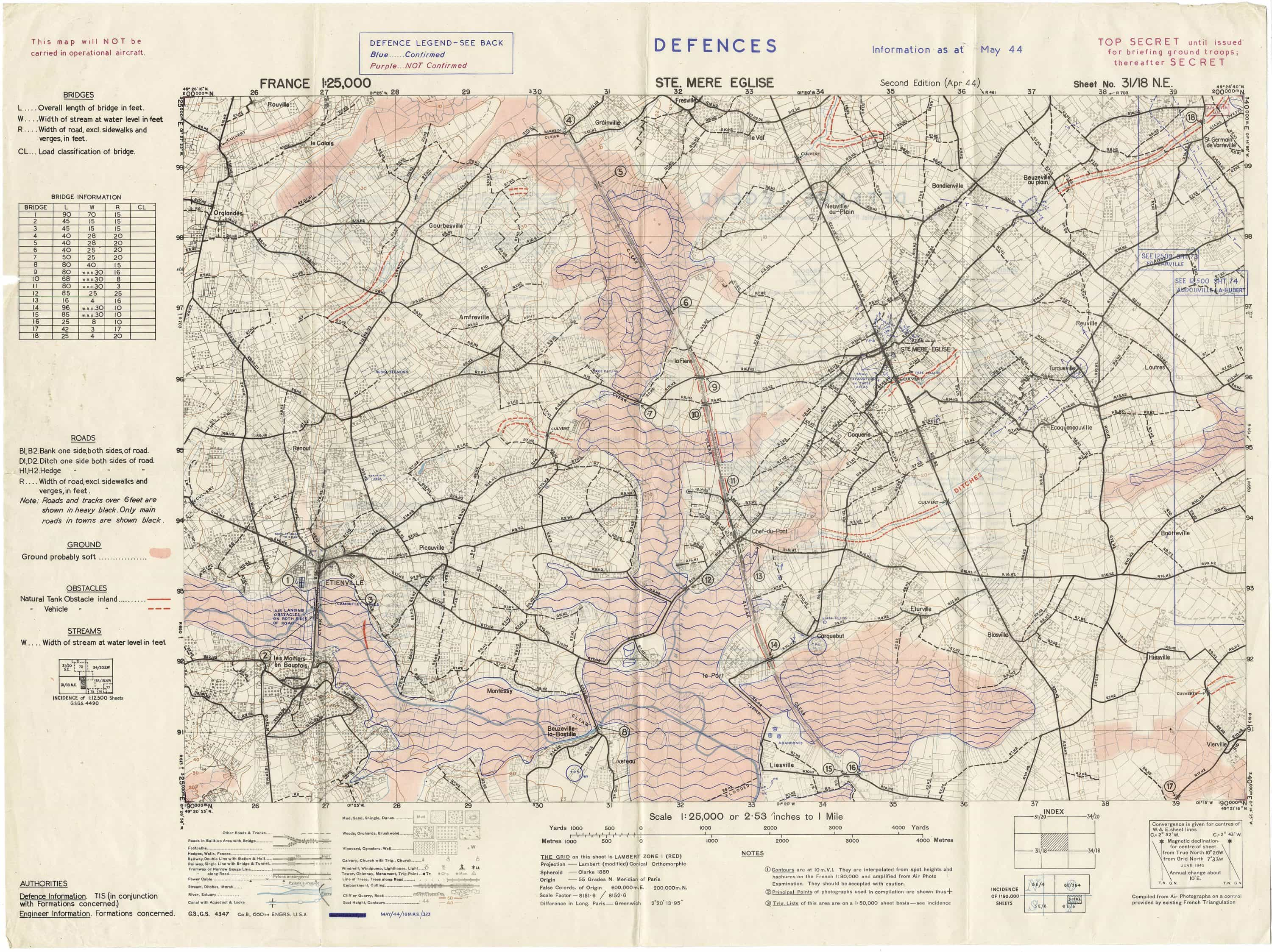Top-secret Sainte-Mère-Eglise, the first French town ... on democracy map, d-day landings map, nazi map, hitler map, d-day animated map, normandy map, france map, d day weather map, boat map, oklahoma d-day map, action map, dayz map, eisenhower map, d-day europe map, juno beach map, falaise gap map, d-day interactive map, d-day beach map, minecraft d-day map,