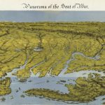 John Bachmann's pioneering 1861 bird's-eye view of the Tidewater region
