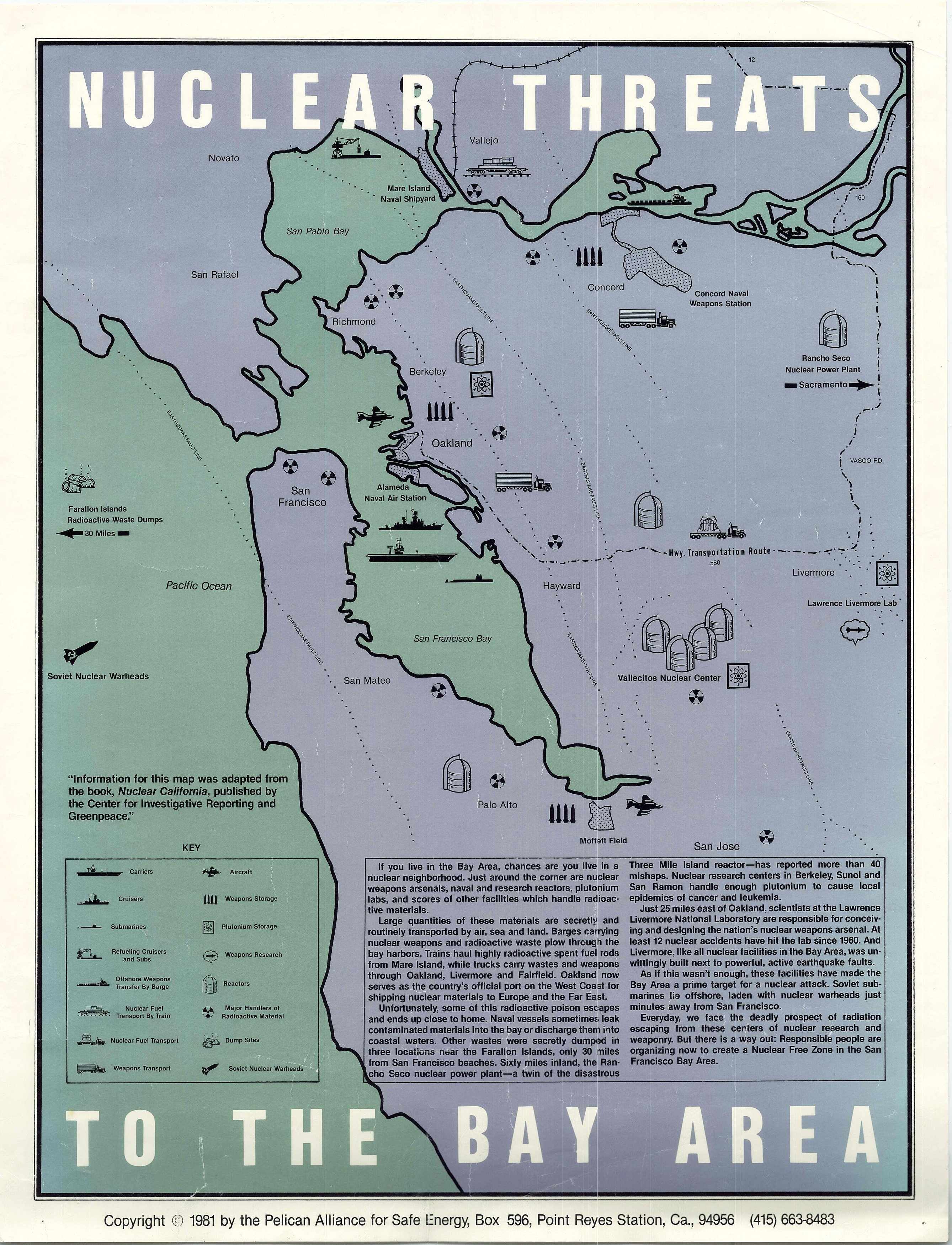 Picture of: Nuclear Materials Threaten The Bay Area Rare Antique Maps