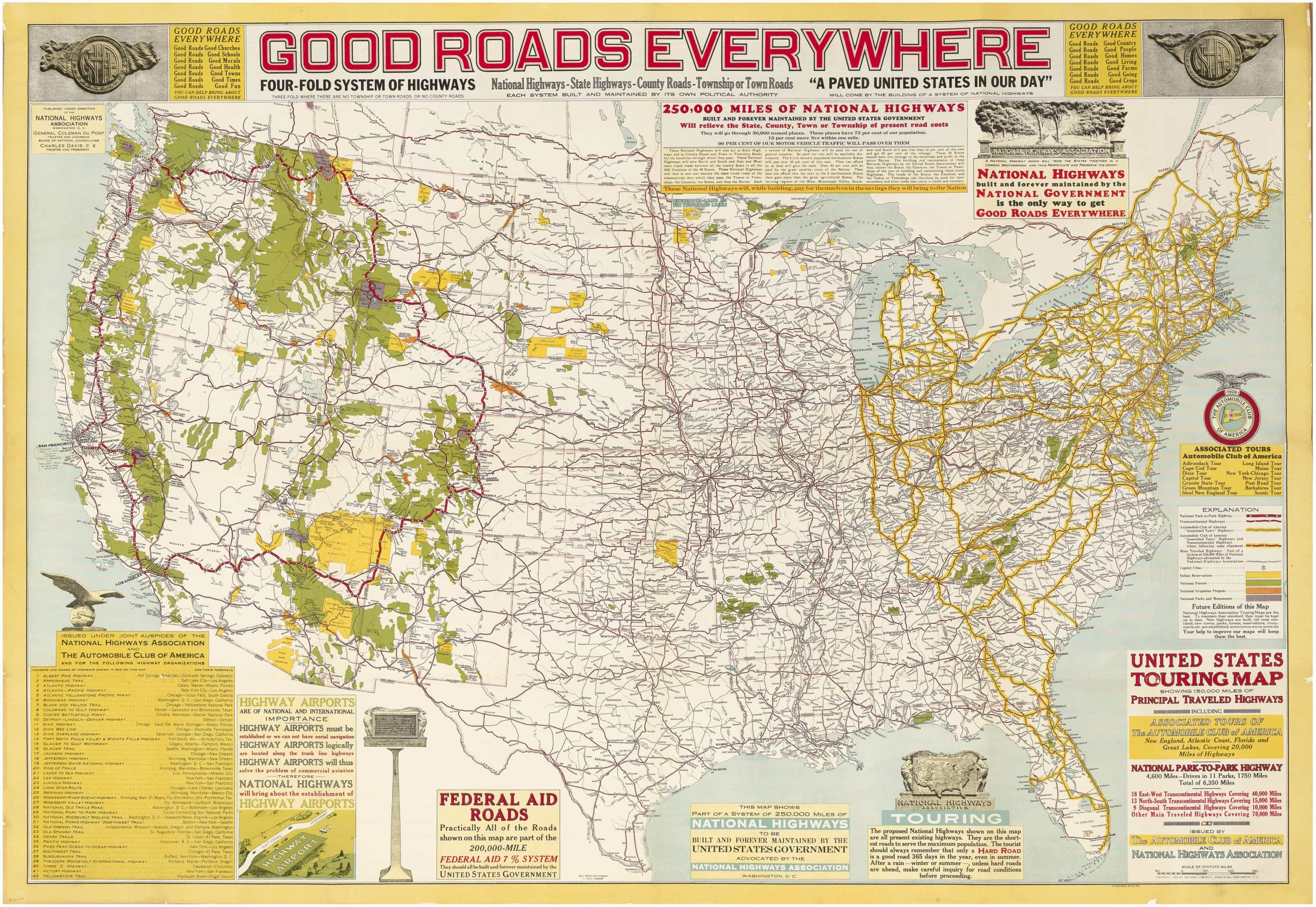 """The National Highways Association pitches a """"Four-Fold ..."""