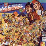 F. E. Cheeseman, ALBERT RICHARD All-America Football Map. Milwaukee, WI: Albert Richard, 1941.