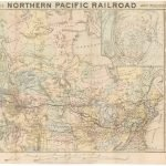 National Railway Publication Company, MAP OF THE NORTHERN PACIFIC RAILROAD AND TRIBUTARY COUNTRY. Jay Cooke & Co., [prob. 1872.]