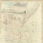 Lovely aquatint view of Portsmouth New Hampshire from The Atlantic Neptune