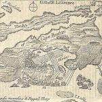PLAN OF CAPE BRETON. [London: Printed by C. Ackers in St. John's Street, August, 1745].