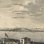Governor [Thomas] Pownall (artist) / John Bowles et al. (publishers), A View of the City of Boston the Capital of NEW ENGLAND, in North America. London, ca. 1760 (first issued separately) / ca. 1768 (present issue).