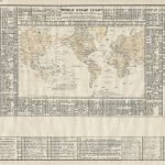 Edward L[indsay] Bell, WORLD STAMP CHART[:] COUNTRIES AND COLONIES LOCATED. Cambridge, Mass.: Edward L. Bell, 1948.