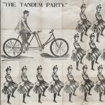 "R. Trumbull, Printer, ""THE TANDEM PARTY"". New York: A. J. Herdler, 1897."