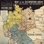 Printed by Karl W. Schilling (Heilbronn), BESATZUNGS-ZONEN MIT NEUEN POSTLEITGEBIETEN [:] MAP OF THE OCCUPATION AREAS [:] CARTE DES ZONES D'OCCUPATION [:] КАРТА ОККУПАЦИОННЫХ ЗОН. Frankfurt am Main: Atlanta Service, [1946].