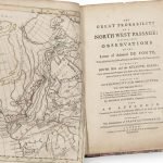 [ Northwest Passage ] Map of the Northwest from [Theodore Swaine Drage (attrib.)] THE GREAT PROBABILITY OF A NORTH WEST PASSAGE: DEDUCED FROM OBSERVATIONS ON THE Letter of Admiral DE FONTE, Who sailed from the Callao of Lima on the Discovery of a Communication BETWEEN THE SOUTH SEA and the ATLANTIC OCEAN; And to intercept some Navigators from Boston in New England, whom he met with, Then in Search of a NORTH WEST PASSAGE. PROVING THE AUTHENTICITY of the Admiral's LETTER. London: Thomas Jefferys 1768.