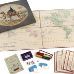 Delightful deck of cartographic playing cards