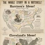 THE WHOLE STORY IN A NUTSHELL! Harrison's Ideas! … Cleveland's Ideas! New York: Yale Publishing Co., 1888.