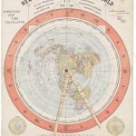 [ Flat Earth ] [Alexander Gleason], GLEASON'S NEW STANDARD MAP OF THE WORLD ON THE PROJECTION OF J. S. CHRISTOPHER, MODERN COLLEGE, BLACKHEATH ENGLAND. SCIENTIFICALLY AND PRACTICALLY CORRECT. Buffalo: Buffalo Electrotype and Engraving Co., 1892.