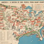 Emma Bourne, AMERICA – A NATION OF ONE PEOPLE FROM MANY COUNTRIES. New York: The Council Against Intolerance in America, 1940.