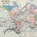 Second map - Movements of the Waters - in James Reynolds physical atlas
