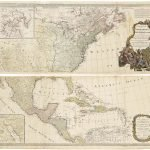 [Emanuel Bowen & John Gibson], A NEW MAP OF NORTH AMERICA; with the WEST INDIA ISLANDS, DIVIDED according to the Preliminary Articles of Peace, Signed at Versailles, 20. Jan. 1783, wherein are particularly Distinguished THE UNITED STATES, and the SEVERAL PROVINCES, GOVERNMENTS &ca. which Compose THE BRITISH DOMINIONS; LAID DOWN according to THE LATEST SURVEYS, and Corrected from THE ORIGINAL MATERIALS, OF GOVER.N POWNALL, MEM.BR OF PARLIA.MT 1783. London: Robert Sayer, August 15th, 1786.