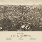 Henry Wellge, PANORAMIC VIEW OF BUTTE, MONTANA. Milwaukee: Henry Wellge, 1904