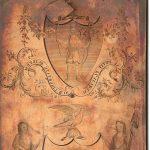 [ James Trenchard ], The Armorial bearings of the States of Massachusetts and N. York. [Philadelphia, 1787.]