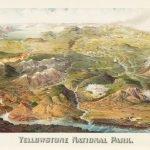 Panoramic View of Yellowstone National Park